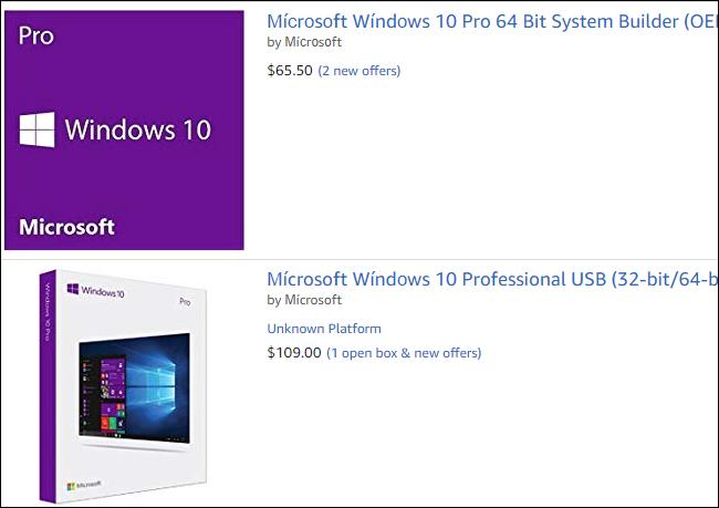 Kontuz ibili kontratazioan Windows 10 Noiztik Amazon 4