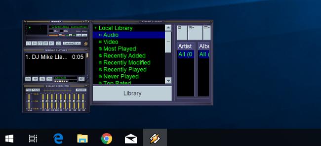 Doako deskarga: Winamp 5.8 Beta Ofiziala da, orain Llama-Friendly 4