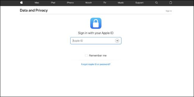 AEBetako erabiltzaileek orain deskarga ditzakete Apple Kontuaren datuak, Hona hemen nola egin 2