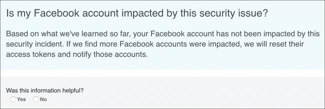Nola jakin Azkenaldian eragina izan bazenuen Facebook Hack 2