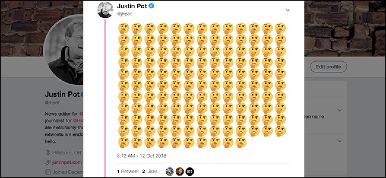 GARRANTZITSUA: 140 emoji jarri ditzakezu Tweet bakar batean