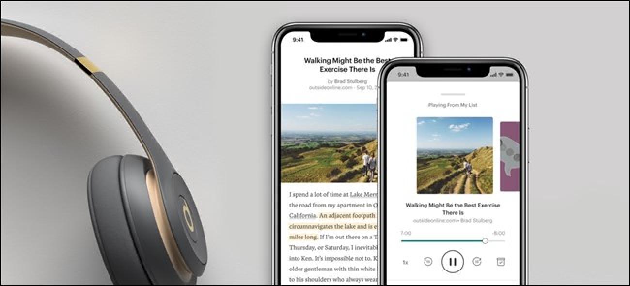 Pocket-ren eguneratze-funtzio eguneratua modu eraginkorrean web orrialdeak podcast bihurtuko ditu