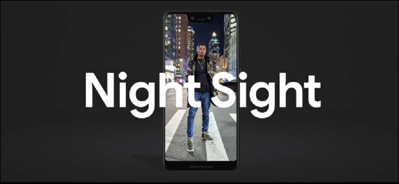 Inoiz ez erabili kameraren flashik gaueko begiradarekin pixeleko telefonoekin