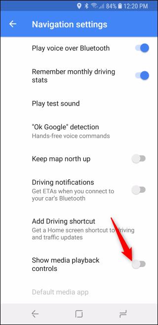 Nola erabili Google Maps musika kontrolak Spotify-era, Apple Musika edo Google Play Music 9