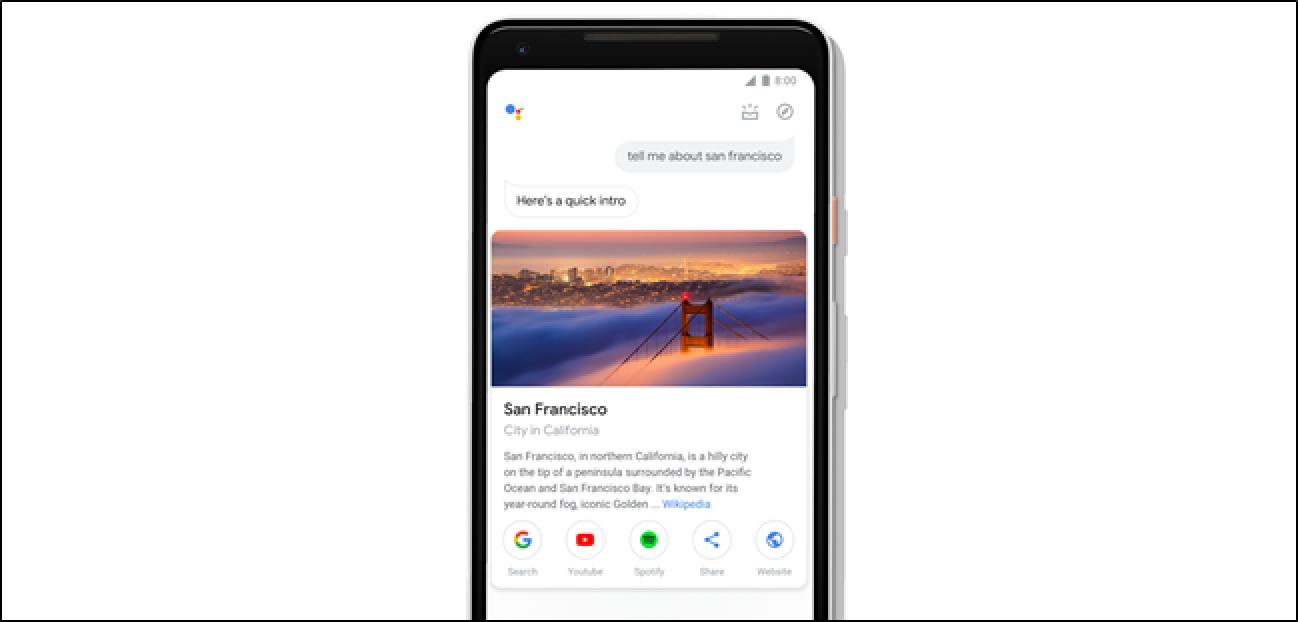 Google eguneratzen du telefonoetarako laguntzailea, ukipen-diseinu berriarekin