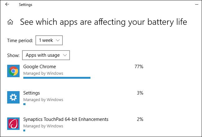 Nola ikusi potentziaren erabilera Windows 10eko ataza-kudeatzailea 6