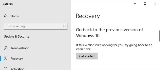 Nola eman denbora gehiago desinstalatzeko Windows 10 Eguneratzeak 5