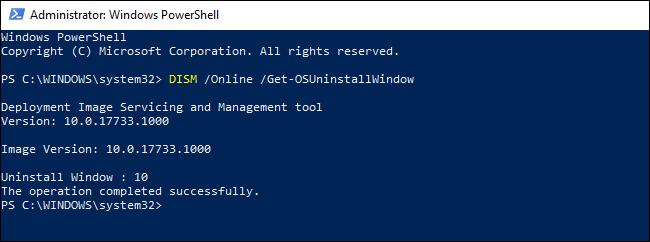 Nola eman denbora gehiago desinstalatzeko Windows 10 Eguneratzeak 3