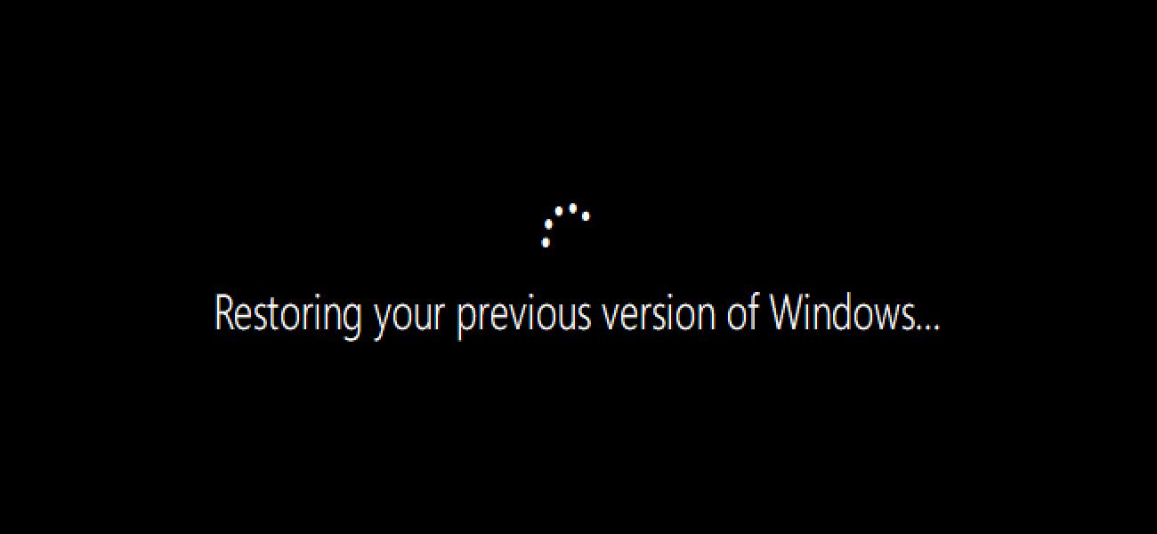Nola eman denbora gehiago desinstalatzeko Windows 10 Eguneratzeak