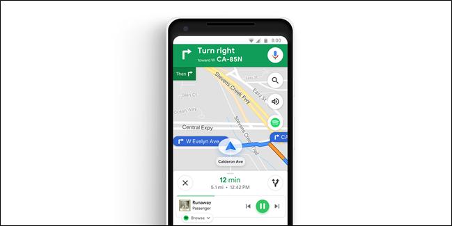 Google Maps-ek hobekuntza-aldaketak, Musika erreproduzitzailearen integrazioa hobetzen ari dira 3