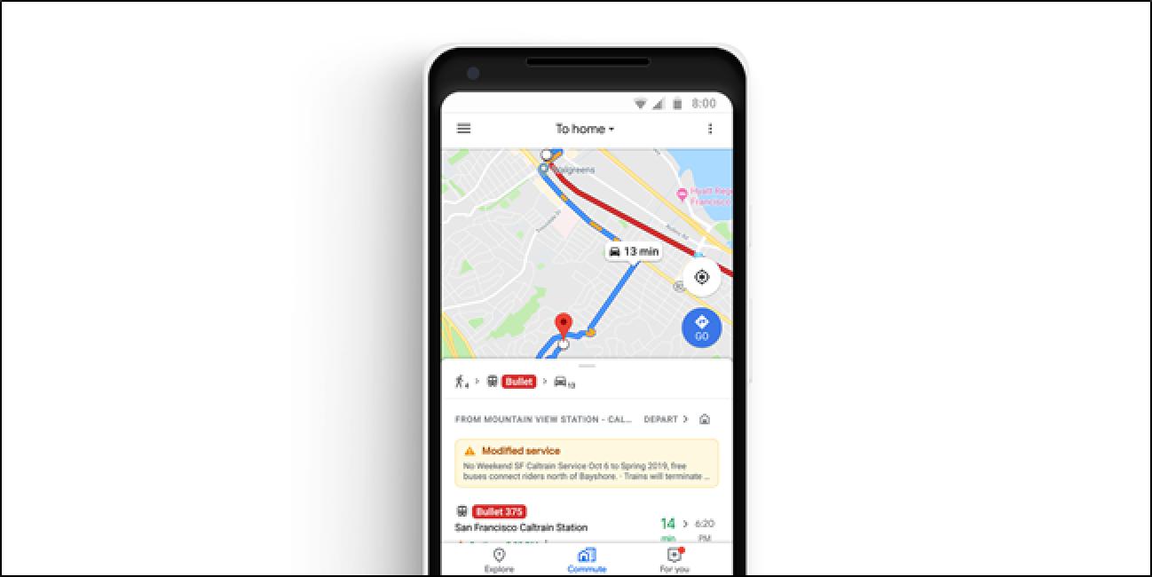 Google Maps-ek hobekuntza-aldaketak, Musika erreproduzitzailearen integrazioa hobetzen ari dira