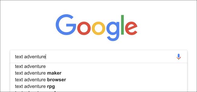 Nola jokatu Google-ren Pazko arrautza sekretu berria: testu abentura joko bat 1