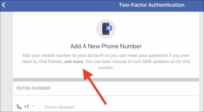Facebook Zure Telefono zenbakia erabiltzen ari da iragarkiak bideratzeko, eta ezin duzu gelditu 3