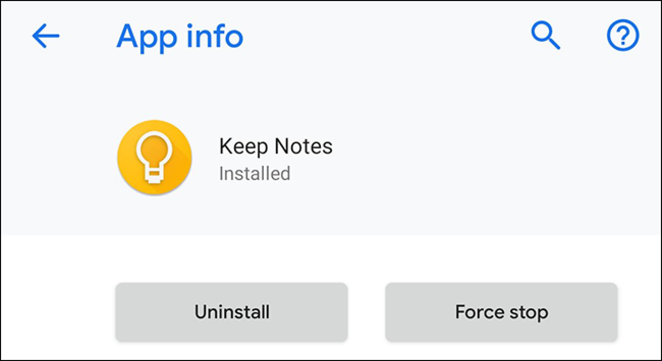 """Ez zara zu bakarrik: Google-ren izena mantendu Android-en """"Oharrak gorde"""""""