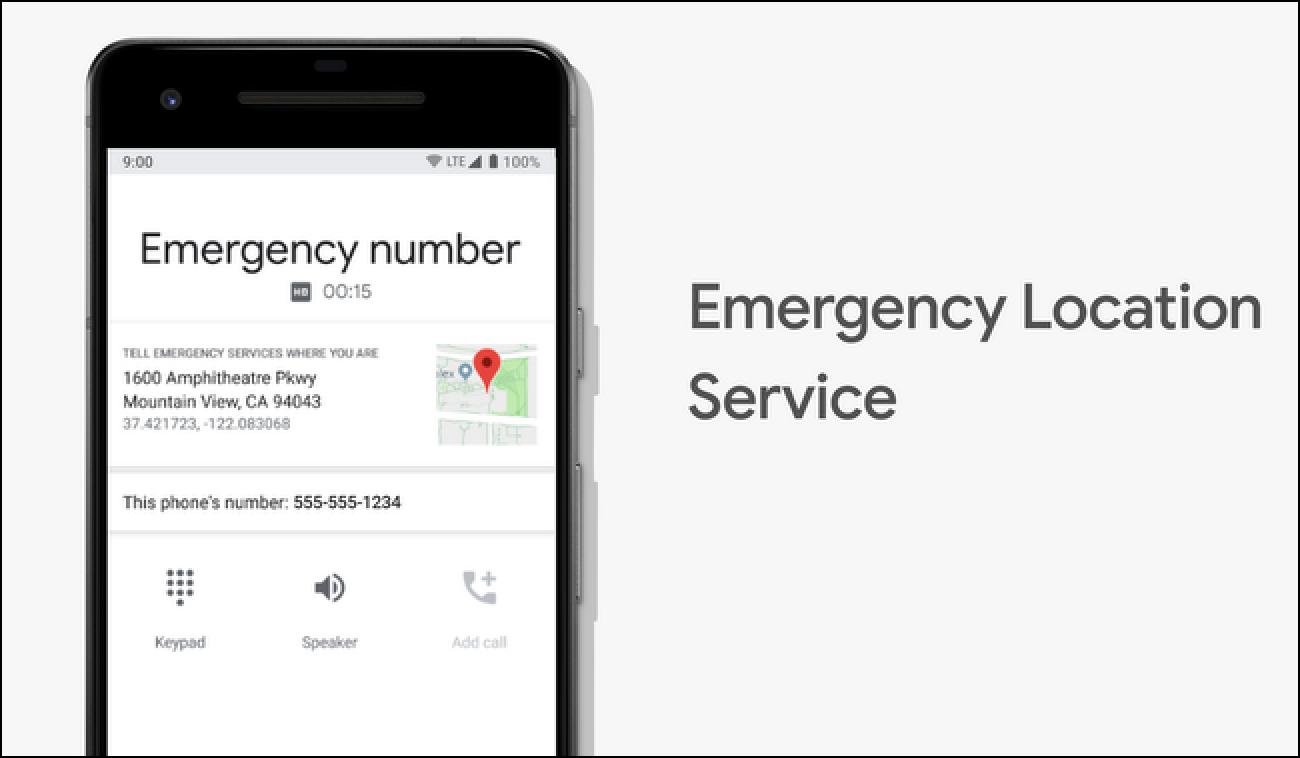 Android telefonoak orain kokatu datu zehatzak 911 dei zentro gehiagorekin