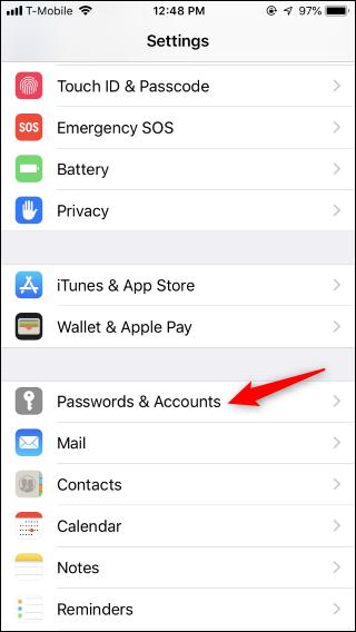 Nola aukeratu zure gogoko pasahitz kudeatzailea betetzeko iPhone edo iPad 2