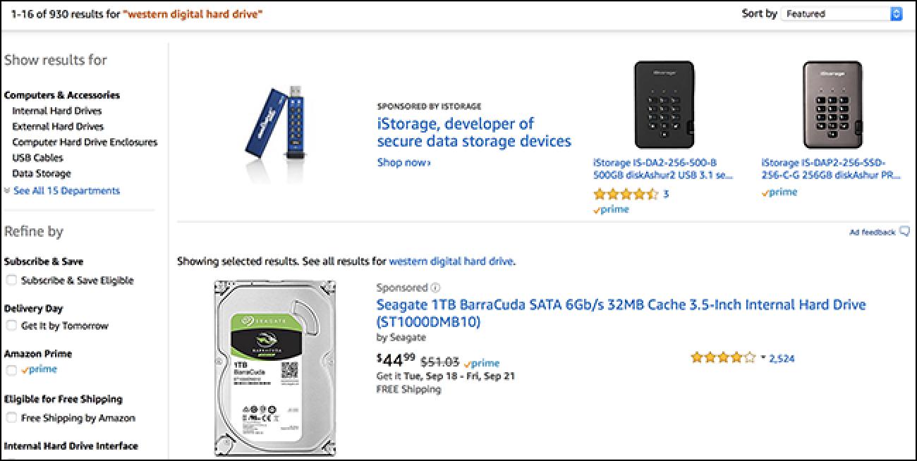 Amazon Produktuen kokapenagatik ordaintzen da, baina zure denda lokalak ere balio du