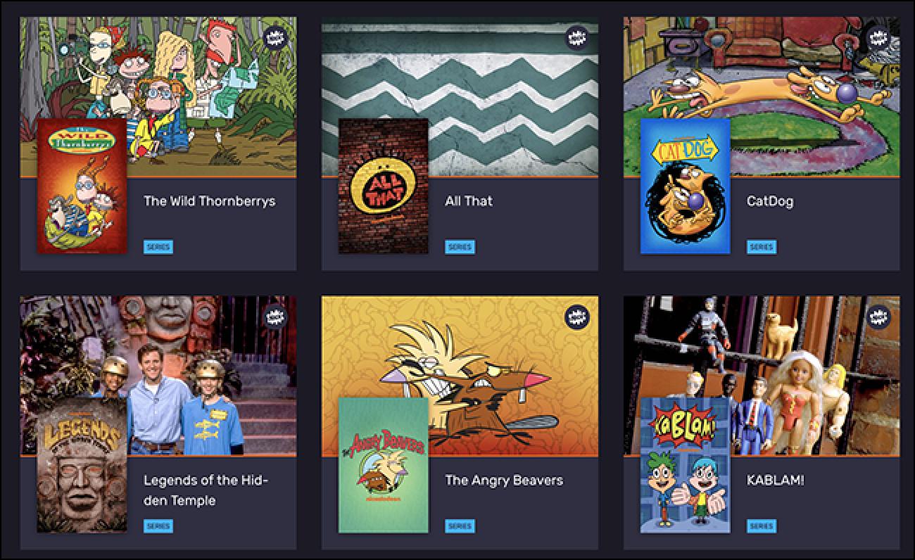 Vintage Nickelodeon Oraindik beste 10 $ hilean eskaintzen zen streaming zerbitzua