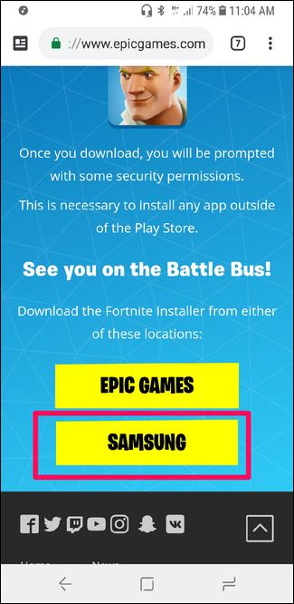 Nola instalatu Fortnite Android-erako 2