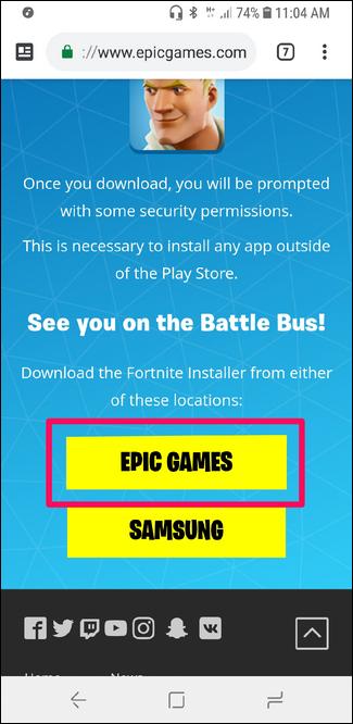Nola instalatu Fortnite Android-erako 7