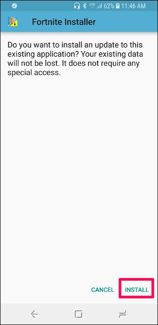 Nola instalatu Fortnite Android-erako 13