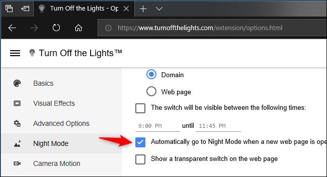 Nola gaitu Dark modua Microsoft Edge-n 6