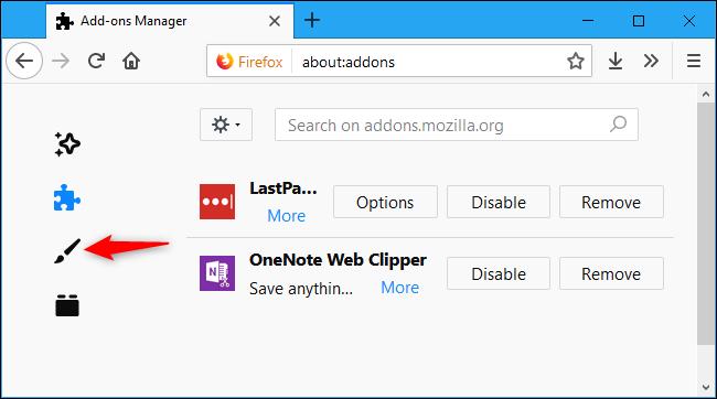 Nola gaitu Dark Mode Firefoxen 3