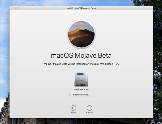 Nola probatu MacOS Mojave Beta oraintxe 6
