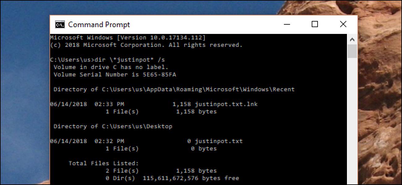 Komando honek agindutako trikimailuak modu azkarragoak bilatzen ditu Windows Explorer