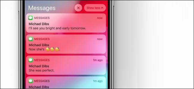 iPhonek iOS 12-n taldekatutako jakinarazpenak jasotzen ari dira 2