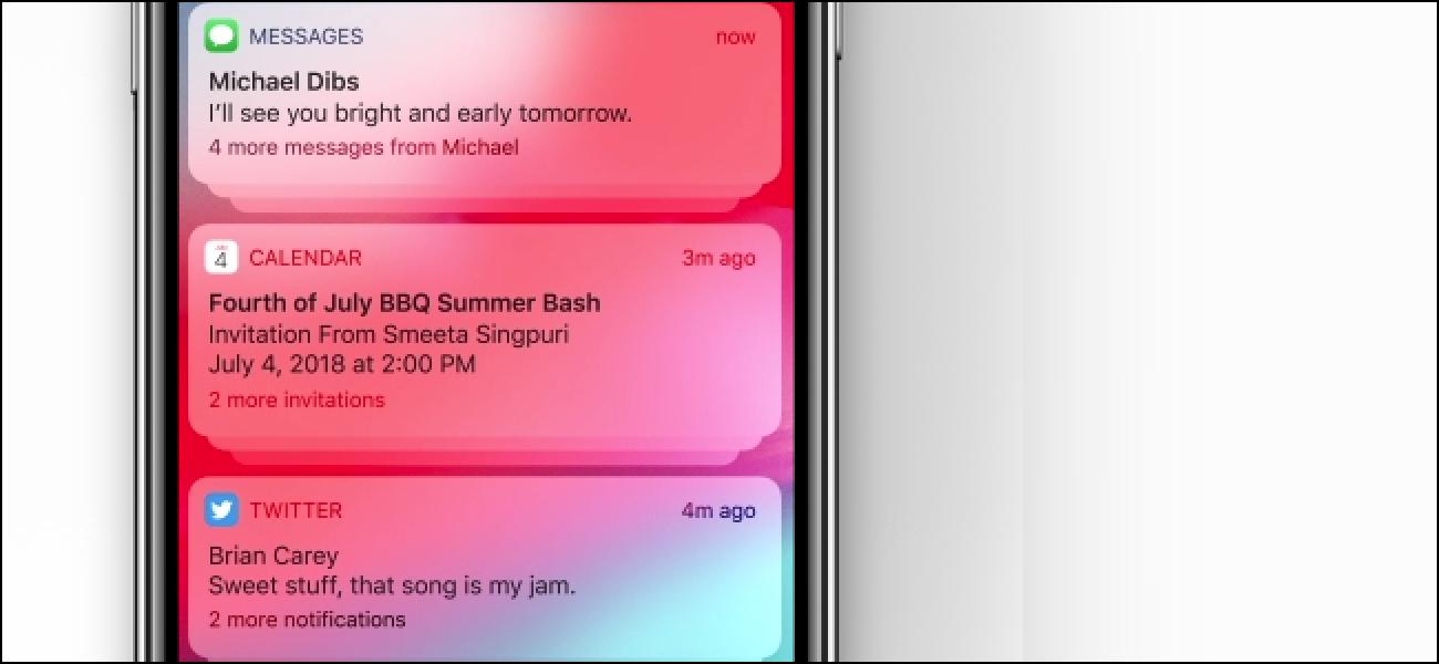 iPhonek iOS 12-n taldekatutako jakinarazpenak jasotzen ari dira