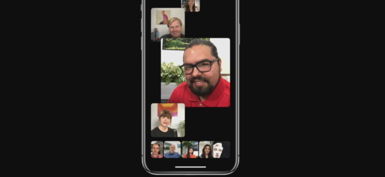 FaceTime-k gehienez 32 pertsona lagunduko ditu taldeko deietan