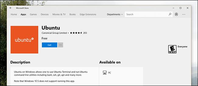Microsoft Store dendan Ubunturen hiru bertsio daude, Horra zergatik 2