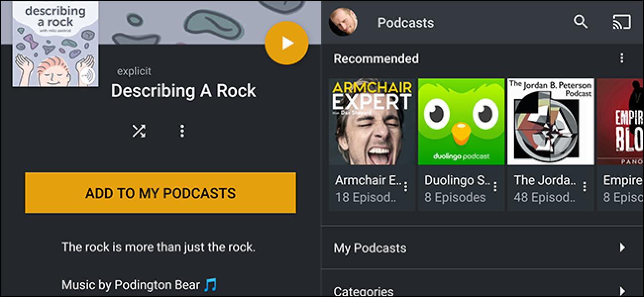 Plex Media Center orain Podcastak onartzen ditu