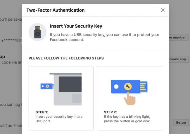 Facebook Bi faktoreren autentikazioa bertsio berritzen du: Hona hemen nola konfiguratu 3