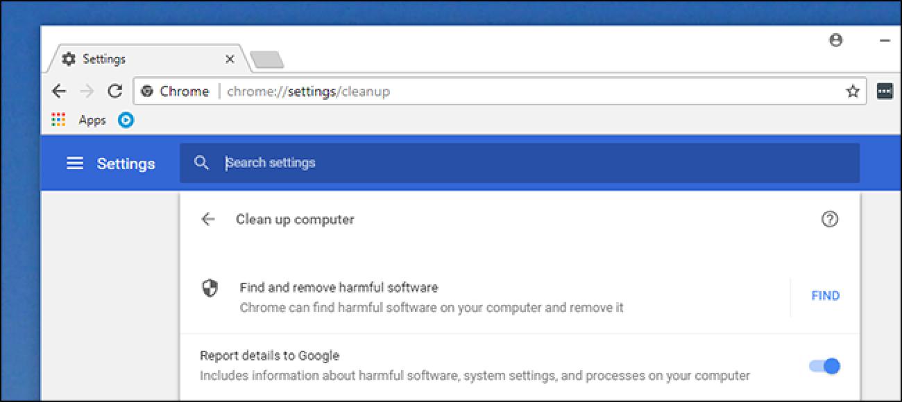 Chrome-k Malware-ako eskanerra eraiki du, hona hemen nola erabili