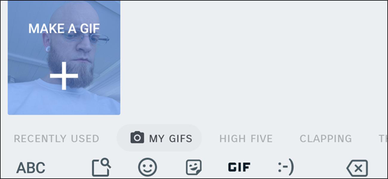 Nola egin GIF Animatuak Google-ko Gboard Teklatua iPhone eta Android-en erabiliz