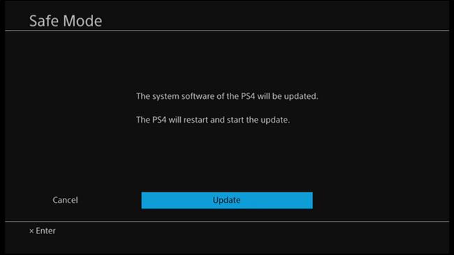 Nola eguneratu PlayStation 4 edo Pro 9
