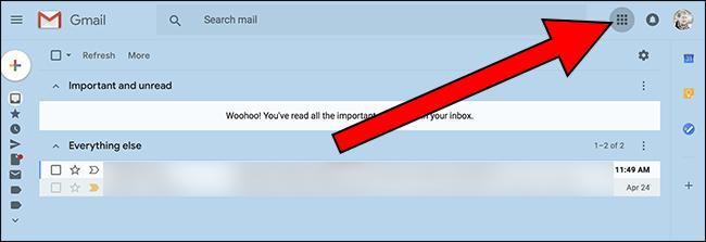 Nola bilatu Kontaktuak Gmail berrian 3