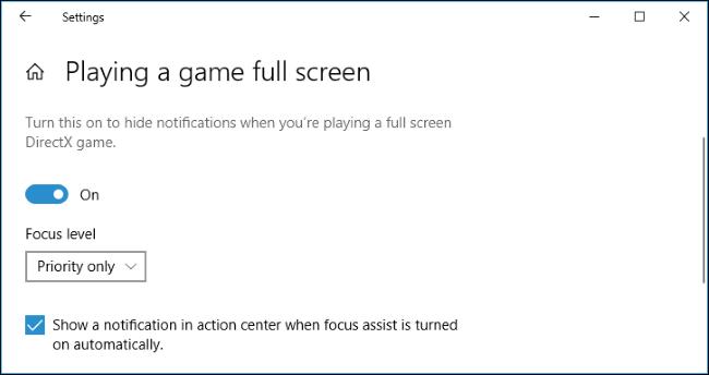 Nola erabili Focus Assist (Ez nahastu modua) aktibatuta Windows 10 11