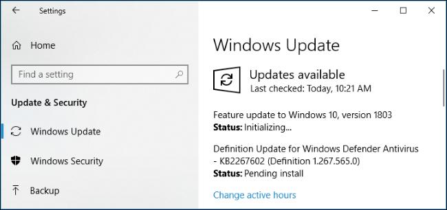 Nola lortu Windows 2018ko apirilaren 10a Eguneratu Orain 3