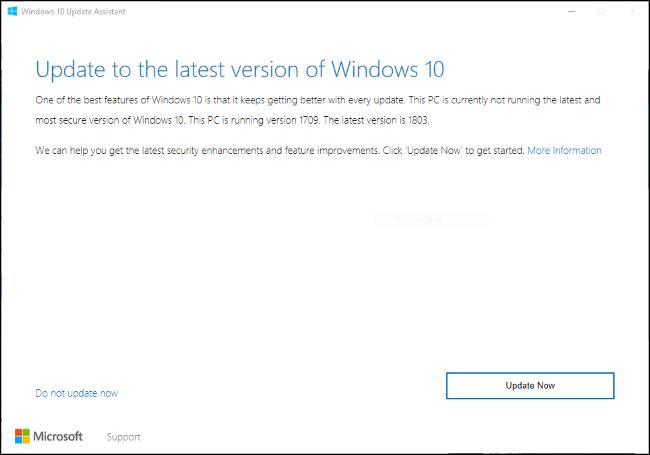 Nola lortu Windows 2018ko apirilaren 10a Eguneratu Orain 4