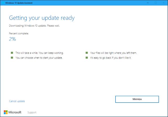Nola lortu Windows 2018ko apirilaren 10a Eguneratu Orain 5