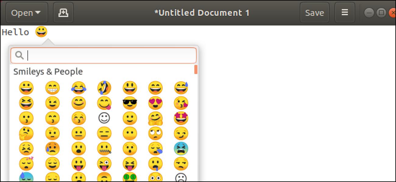 Nola desinstalatu Emoji Ubuntu-n