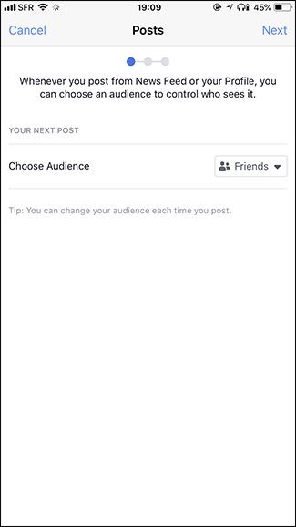 Nola babestu zure pribatutasuna Facebook 5