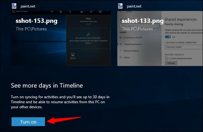 Zer da Windows 10 denbora-lerroa, eta nola erabiltzen dut? 5
