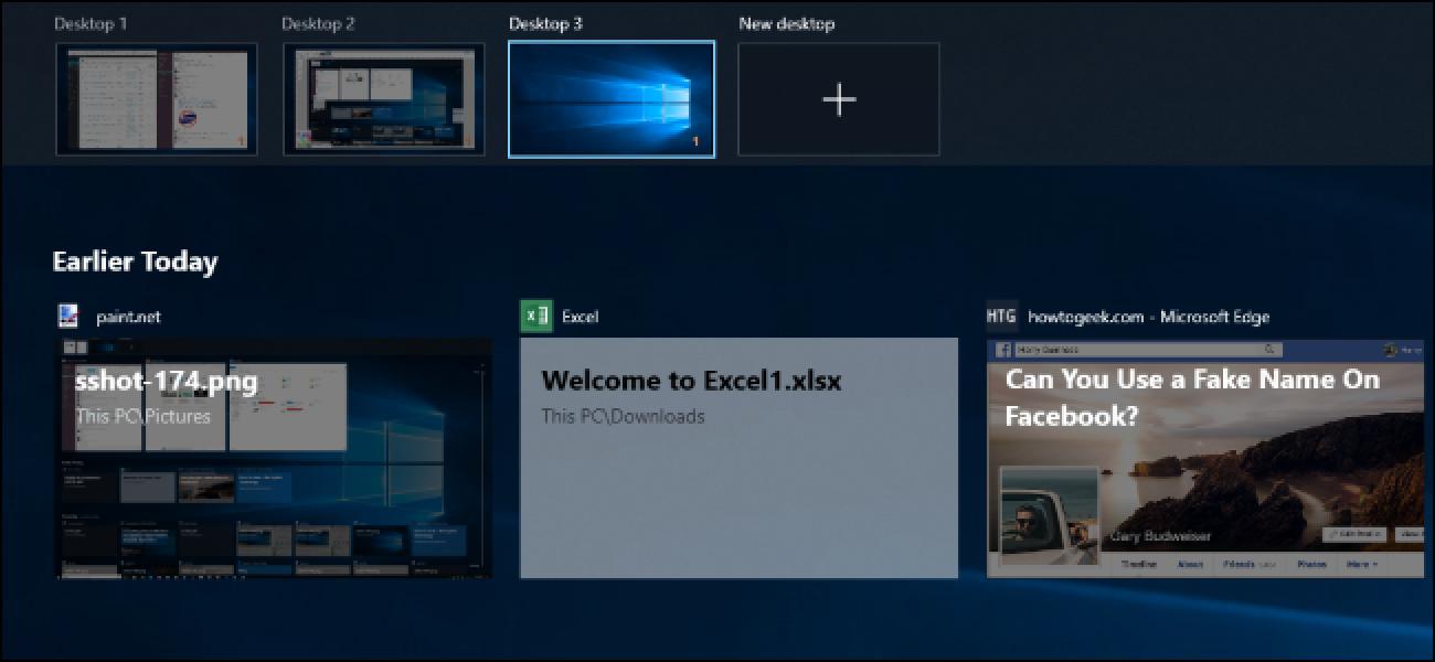 Zer da Windows 10 denbora-lerroa, eta nola erabiltzen dut?
