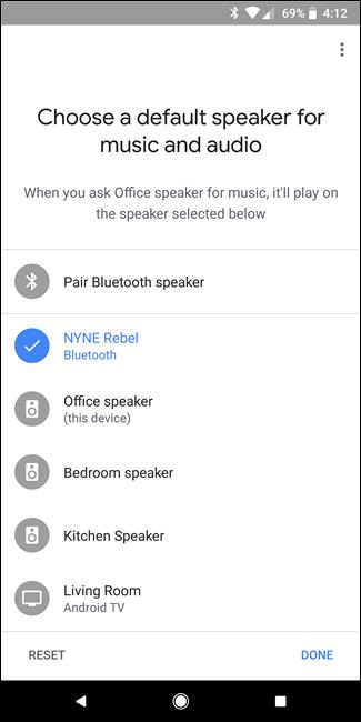 Nola lotu Bluetooth Bozgorailua Google Home-ekin 8