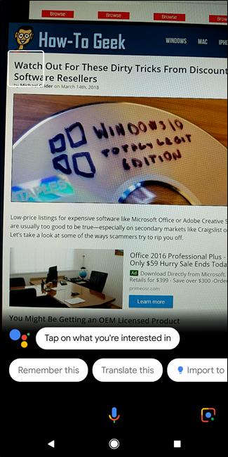 Laguntzaileen Google Lens-ek orain testua hauta dezake: hona hemen nola egin 3