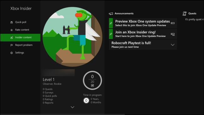 Lortu azken Xbox Ezaugarriak Beste guztiek aurretik Insider Programarekin 3